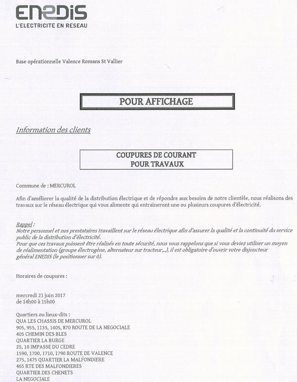 coupures ENEDIS 21 06 2017 bis