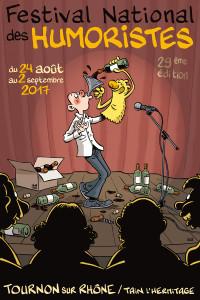 Affiche festival des humoristes
